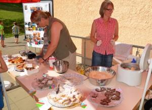 Fleißige Bäckerinnen